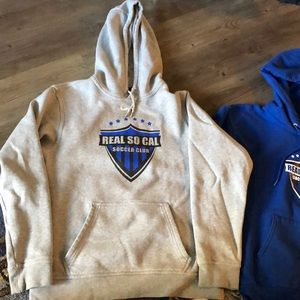 Two Real So Cal Sweatshirts 2 for price of 1